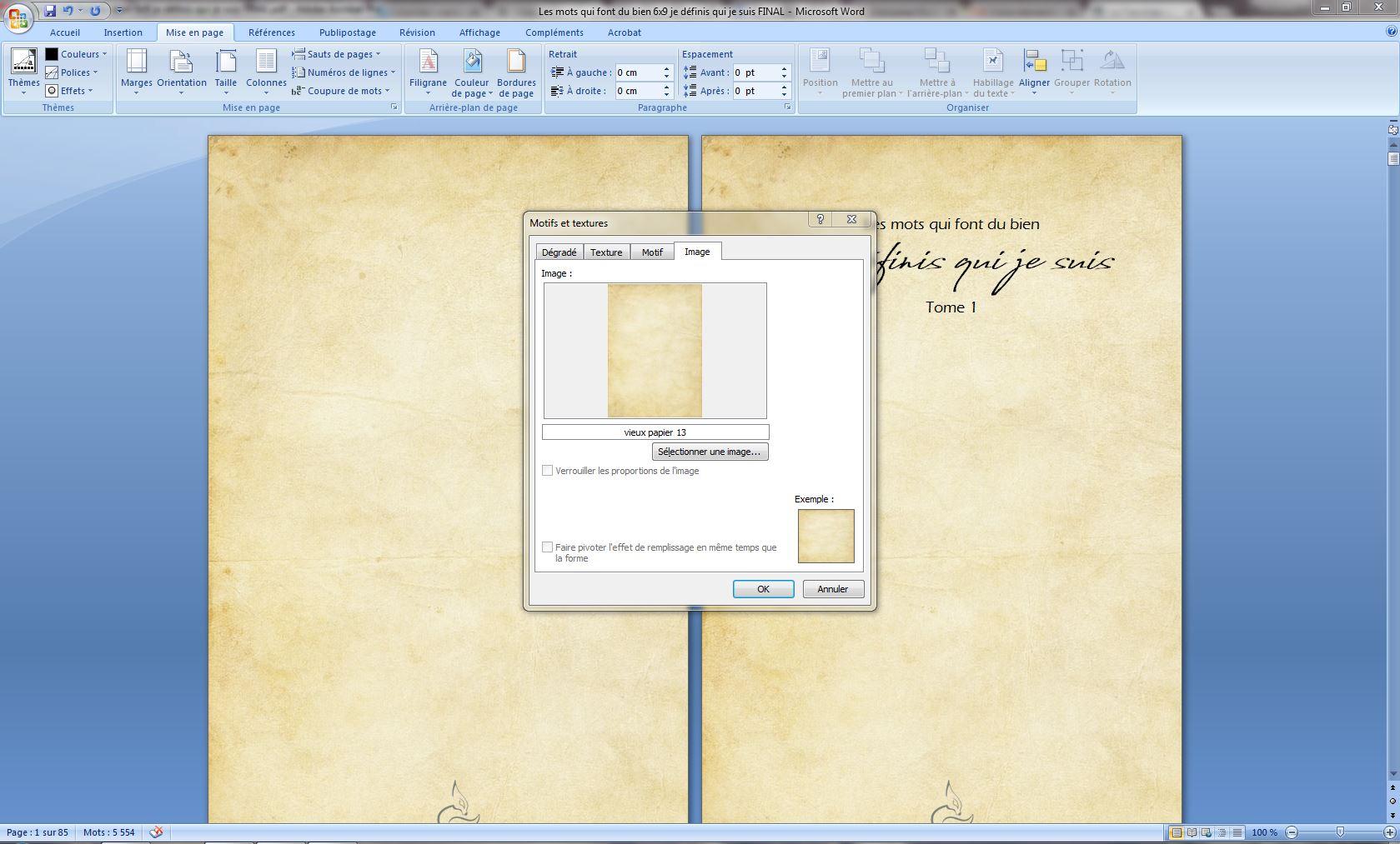 word vers pdf   mon fond de page s u0026 39 emballe